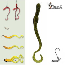 Приманка Orka Twisting Worms 3002-TW-10 100мм H